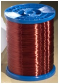 Enameled round wires